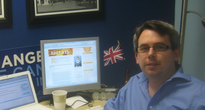 Obama's Twitter King  is Labour's secret weapon next May